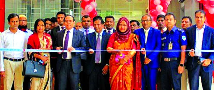 M Fakhrul Alam, Managing Director of ONE Bank Limited, inaugurating its