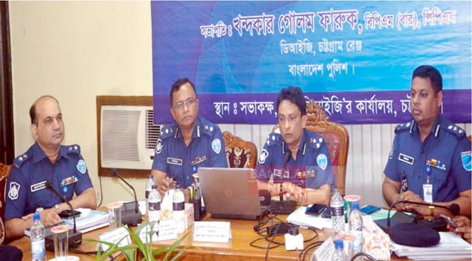 Police ensures highest security during Durga Puja
