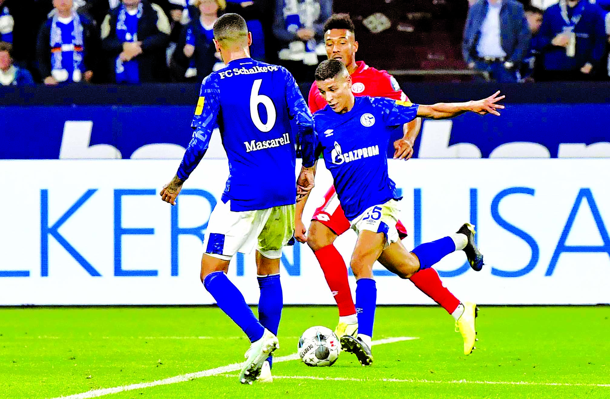 Schalke edge Mainz 2-1 in Bundesliga standings
