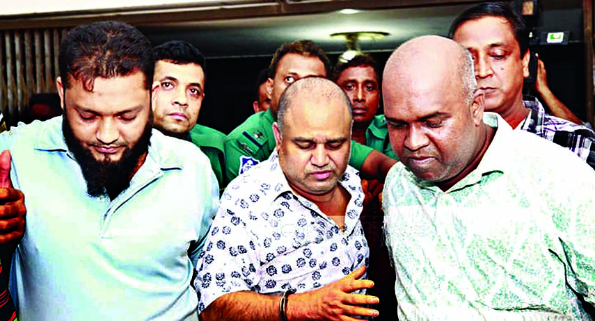 Each of seven bodyguards remanded for 4 days