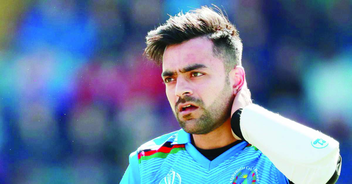 Rashid Khan doubt for tri-series final against Bangladesh