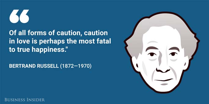 Achieving happiness: Advice from Bertrand Russell