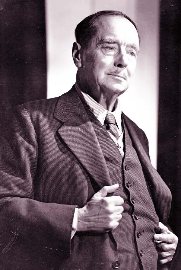 Novelist, journalist Herbert George Wells