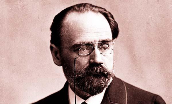 Novelist, critic Émile Zola