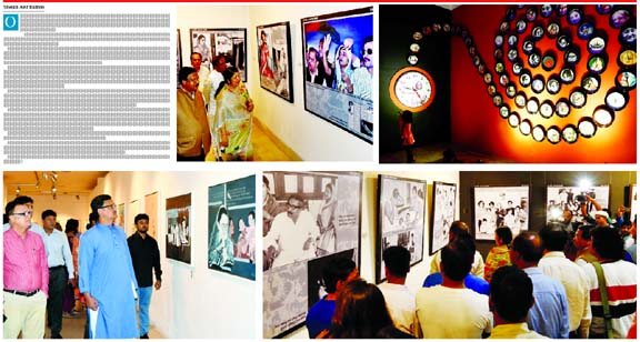 Month-long exhibition on Sheikh Hasina at Shilpakala Academy