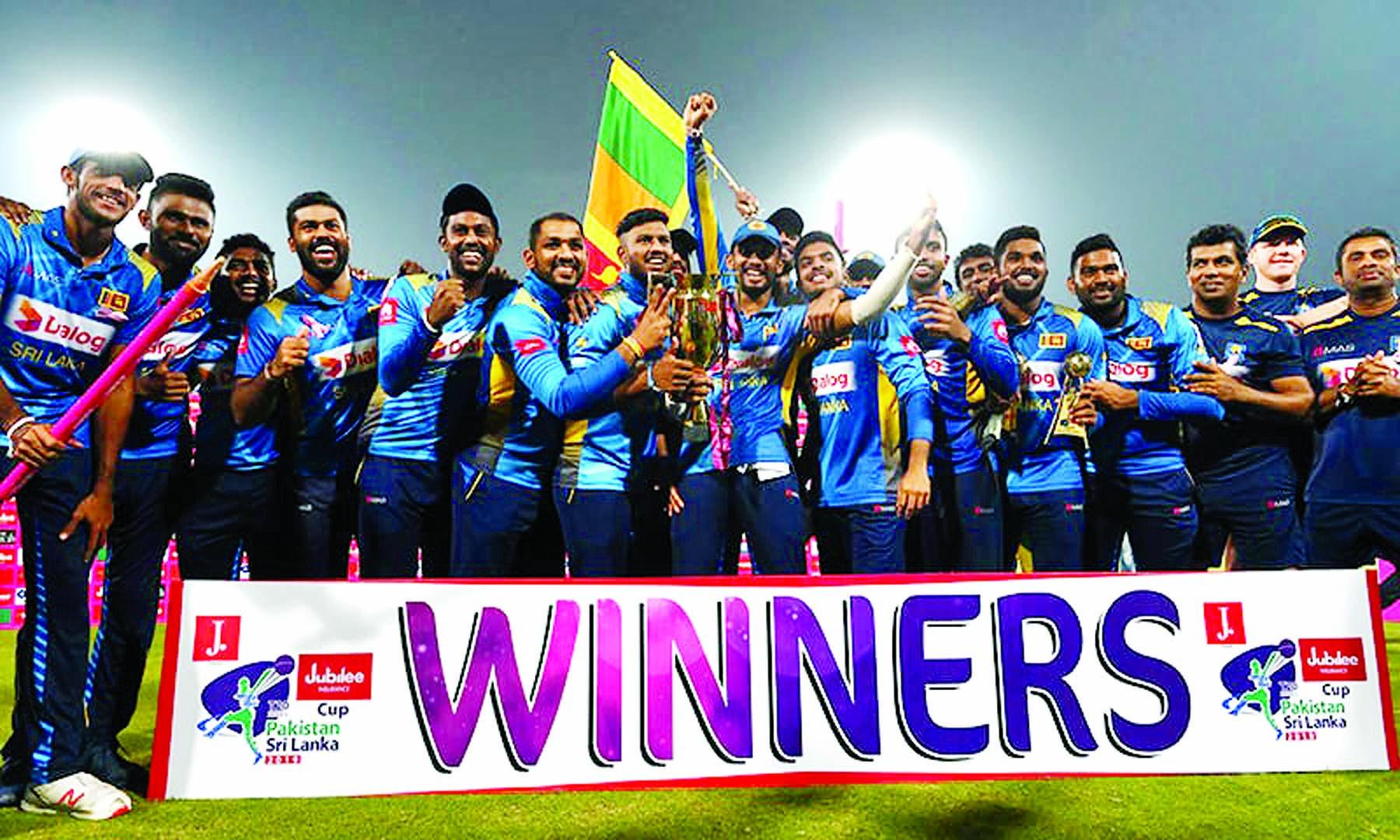 Hasaranga, Fernando star as Sri Lanka whitewash Pakistan in T20 series