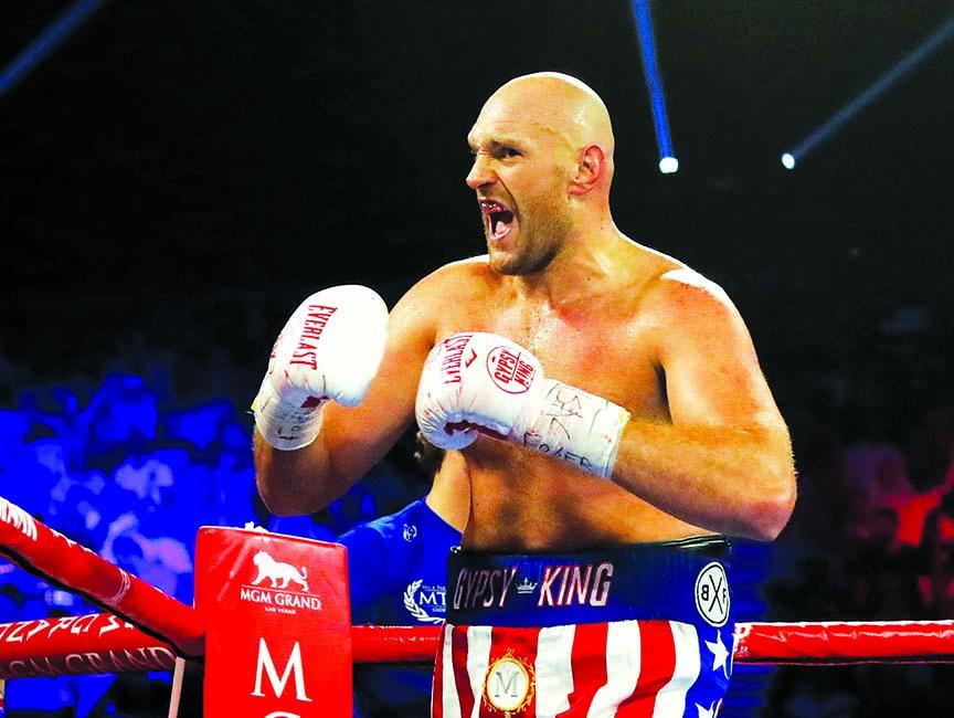 Boxer Fury to make pro wrestling debut in Saudi Arabia