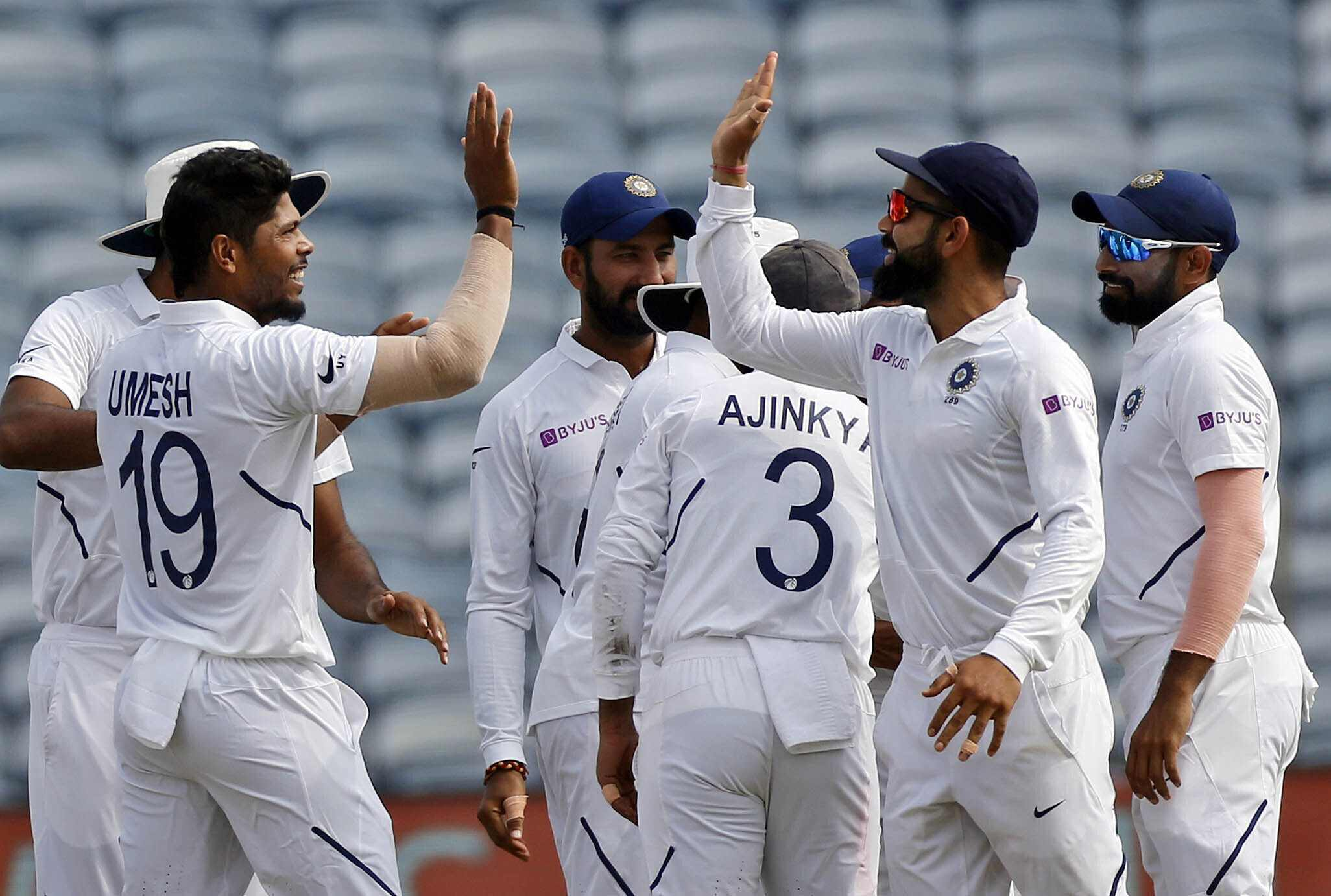 India thrash South Africa to register record-breaking 11th consecutive home series win