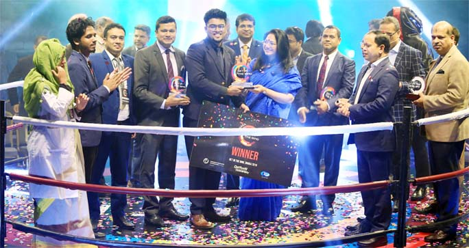 IUT student wins 'Get in the Ring-2019'