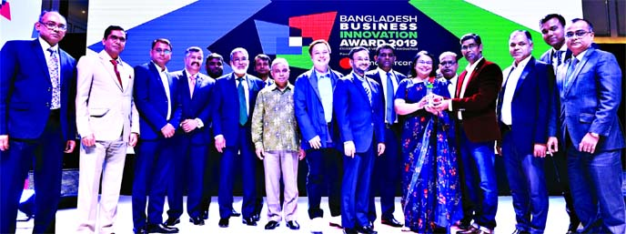 Bank Asia wins Best Business Innovation Award