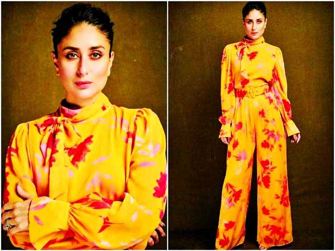 Kareena shows off how to wear florals this autumn