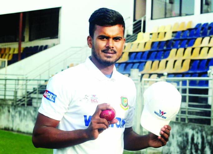 Young pacer Sumon Khan makes his presence felt in NCL