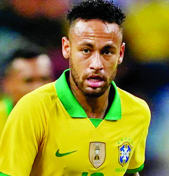 Neymar limps off as Brazil draw with Nigeria
