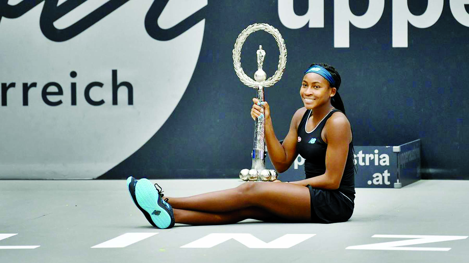 Gauff salutes Federer's words of wisdom