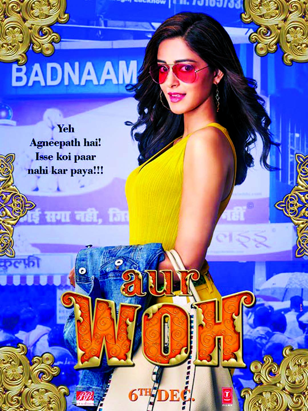 Ananya Panday's look from 'Pati Patni Aur Woh'