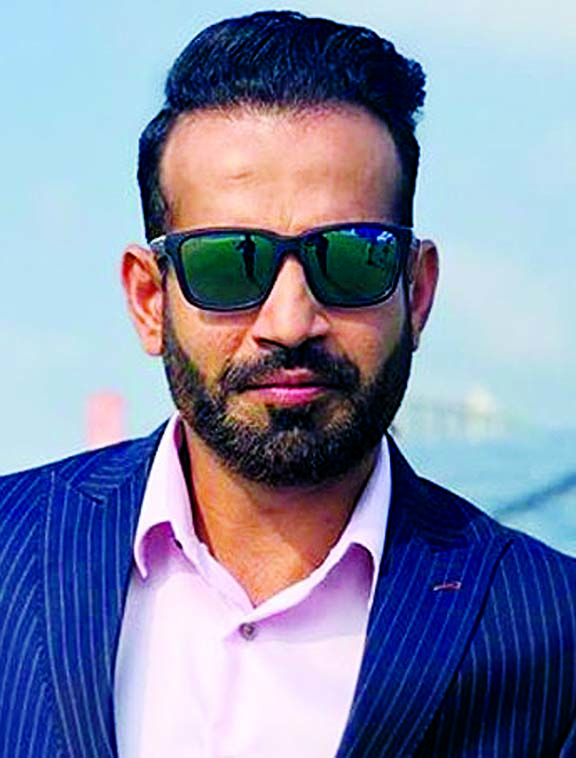 Irfan Pathan expresses his joy in Tamil