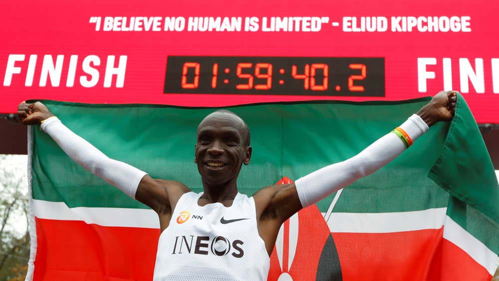 Kipchoge nominated for IAAF Male Athlete of the Year