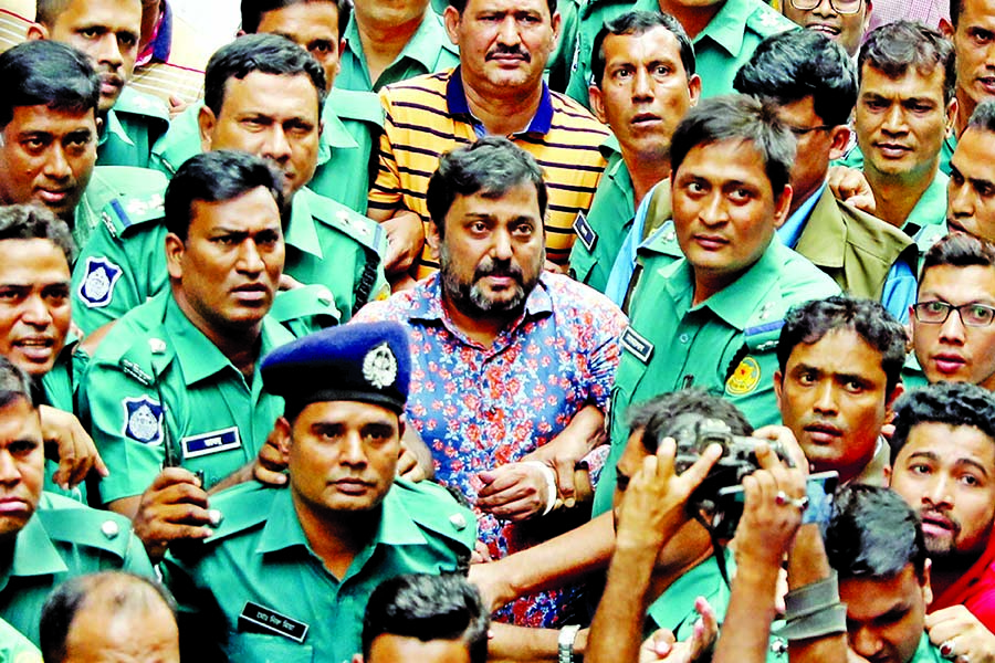 Samrat on 10-day remand, Arman five days
