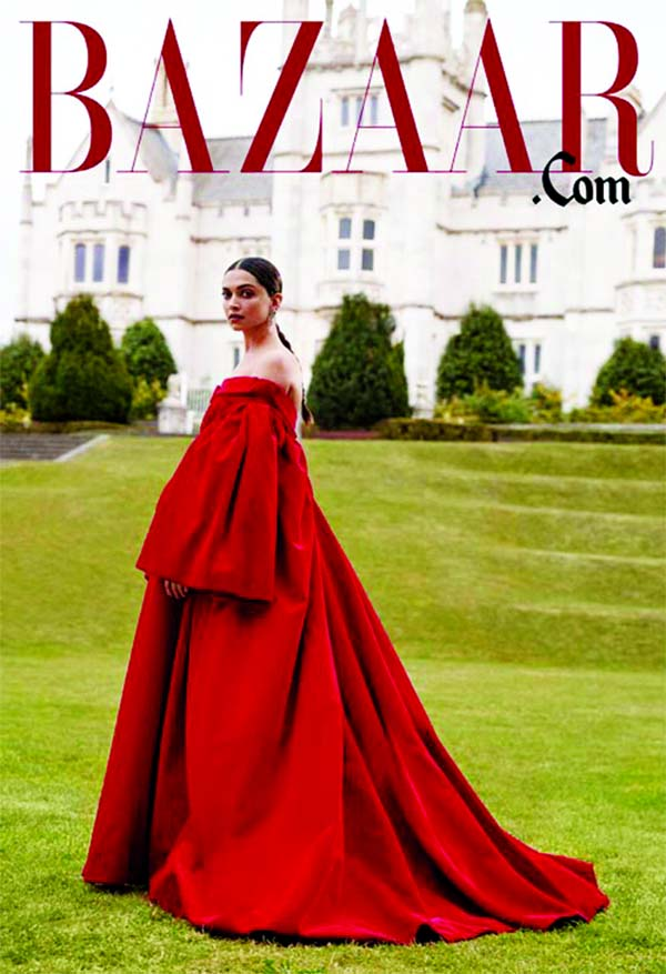 Deepika stands tall on the cover of leading magazine