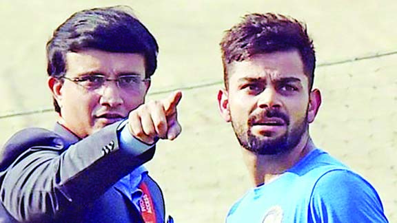 I want Kohli to focus on winning ICC tournaments: Ganguly