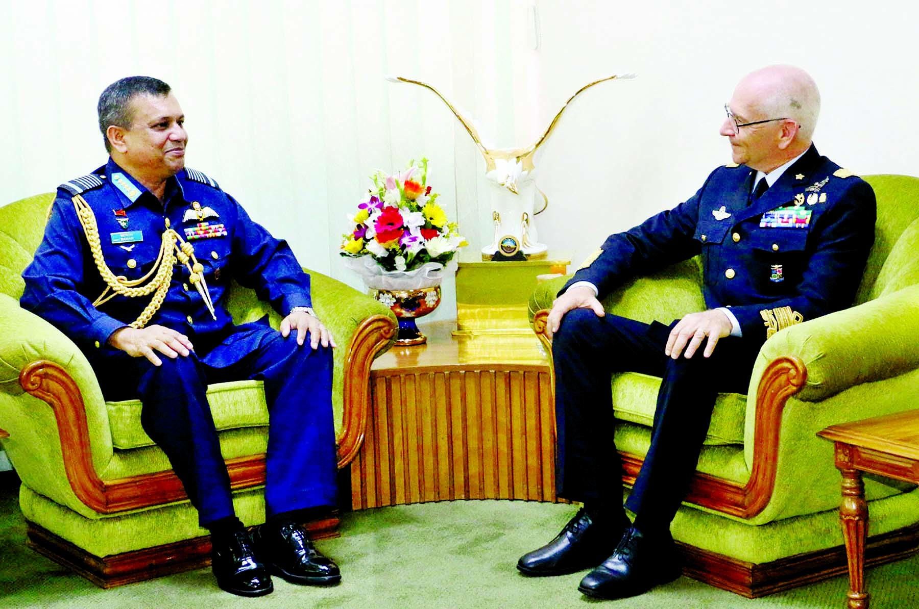 Italian Air Chief calls on BD Air Force Chief