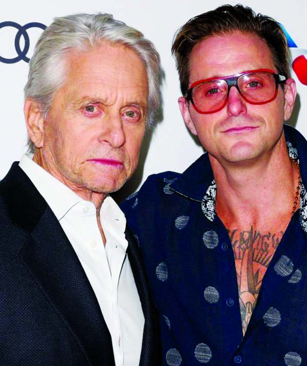 Michael Douglas feared losing son to drug addiction