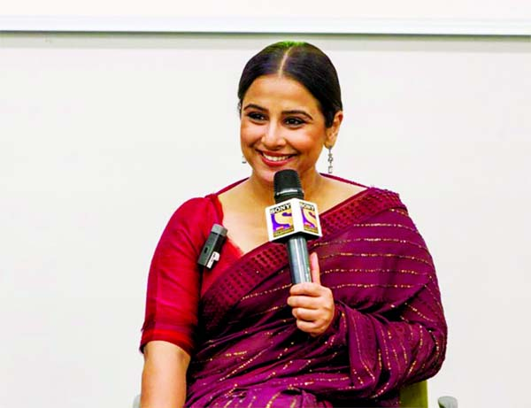 Vidya  honoured in London