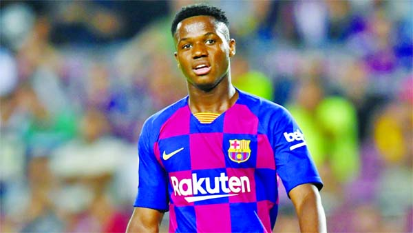 Teenager Ansu Fati becomes next promising star in Spain