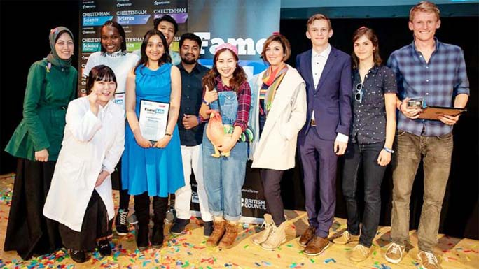 From Bangladesh to the UK: A FameLabber's journey