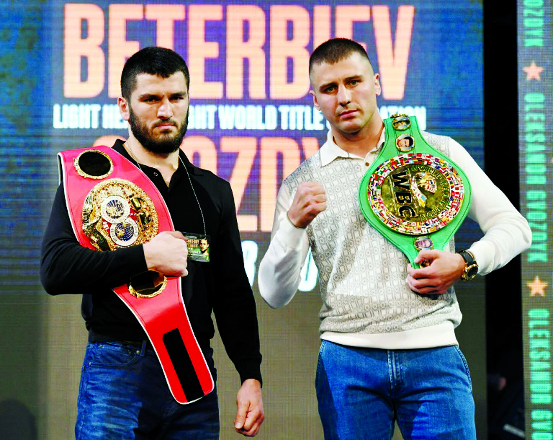 Russia's Beterbiev stops Gvozdyk to unify two titles