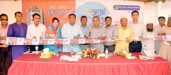 A 8- day long  Flat Sale Fair organised by  East Delta Hoque Arched was inaugurated at Muradpur  yesterday.