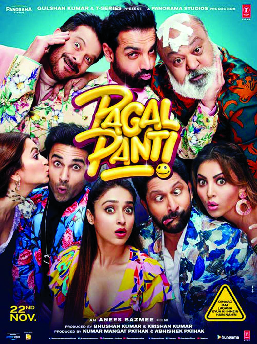 'Pagalpanti' trailer is full of madness