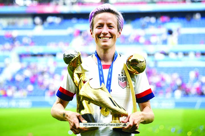 Rapinoe named but Modric, Neymar miss out on Ballon D'Or shortlist