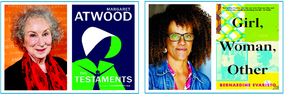 Margaret Atwood and Bernardine Evaristo share Booker Prize 2019