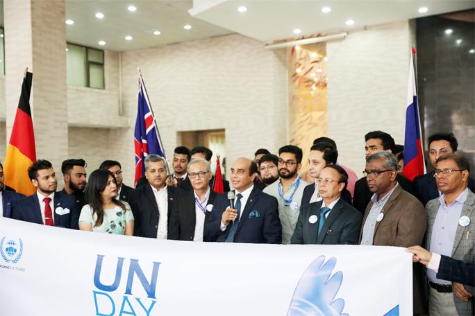 NSU celebrates UN Day