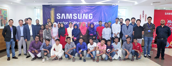 Samsung Junior Software Academy begins 3rd batch
