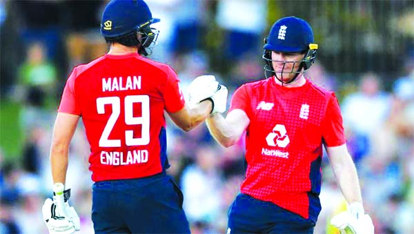 Malan, Morgan blast England to overwhelming win over NZ