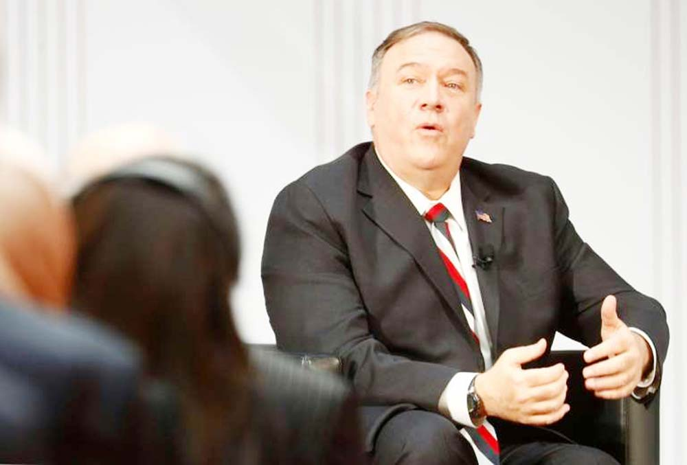 Pompeo slams Iran 'intimidation' of IAEA inspector as 'outrageous'