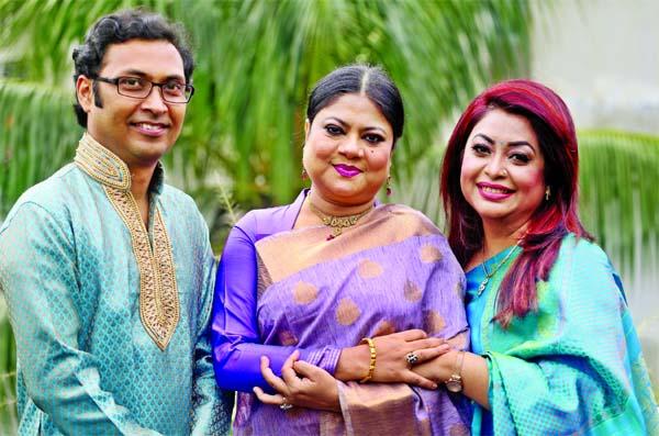 Raja, Homayra Bashir, Kanakchapa render song