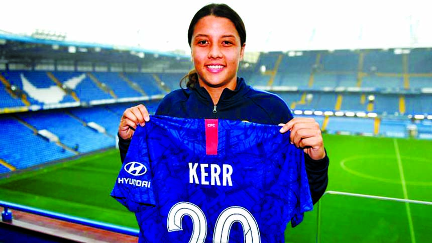 Chelsea win battle to sign Australian women's football icon Kerr