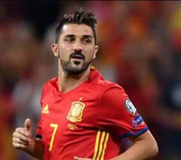 Spain's record scorer striker Villa retires after 19-year career