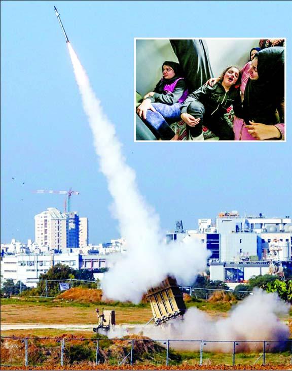 22 Gazans dead as Israel hit on militant chief sparks rocket barrage