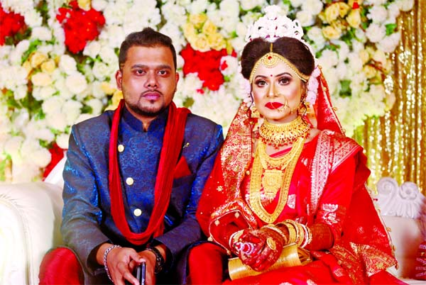 Kishore ties knot with Snigdha