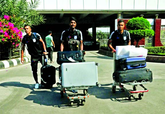 Booters return home