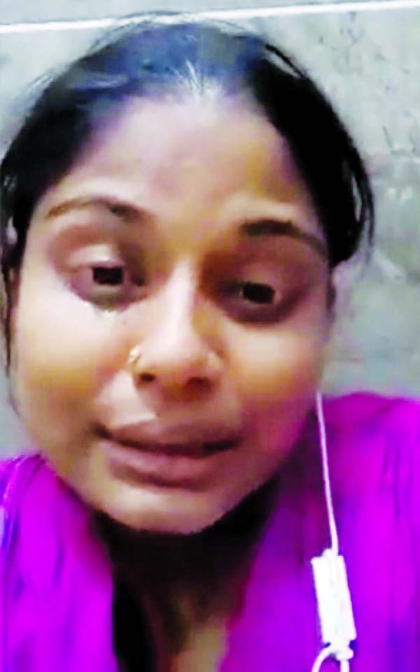 She was not allowed to speak to media at HSIA: Heads for village home under tight security:Saudi deports 86 more BD workers: Returnees narrate tales of miseries