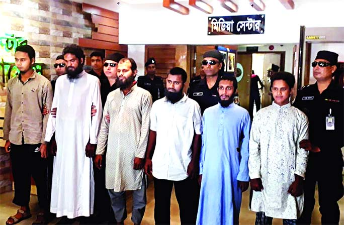 6 suspected Ansar al-Islam men detained