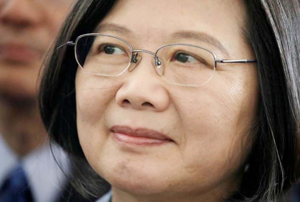Taiwan President chooses running mate who Chinese paper wanted arrested
