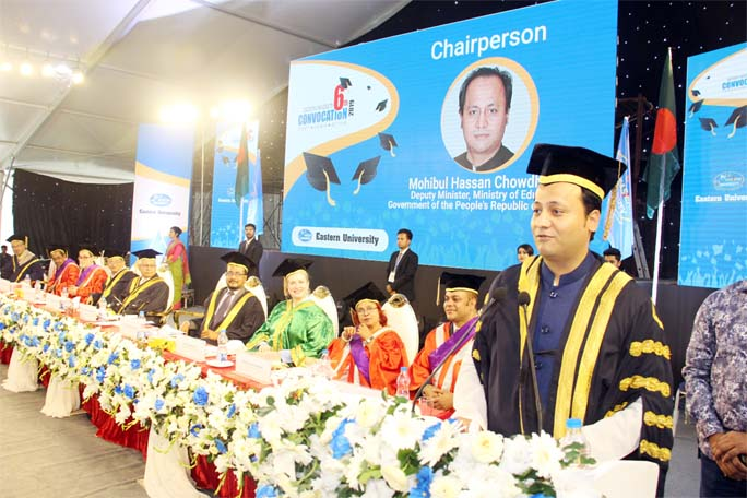 EU holds 6th Convocation