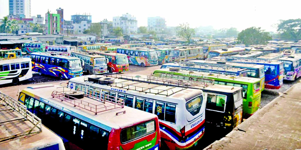 Transport strike hits Khulna, Rajshahi divns