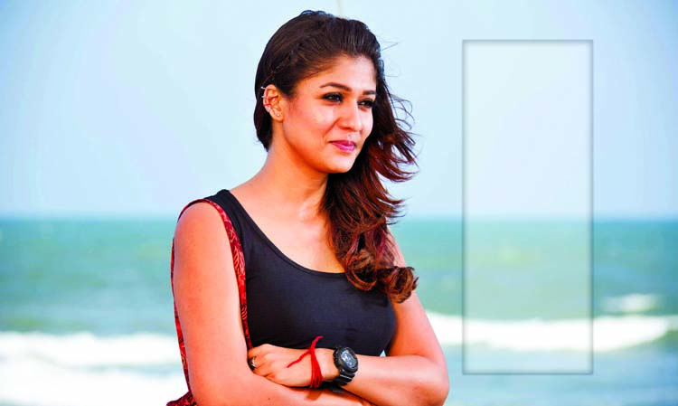 Nayanthara turns  vegetarian for 'Mookuthi Amman'